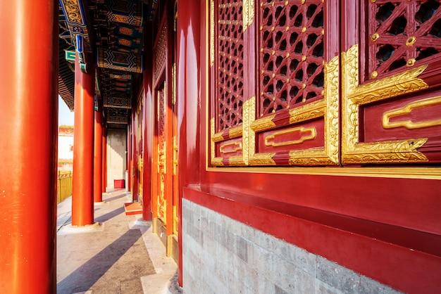 北京の古代の建物