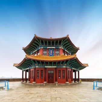 中国風の古代の建物