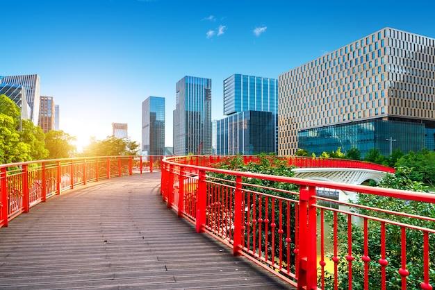 Китай нинбо городской пейзаж