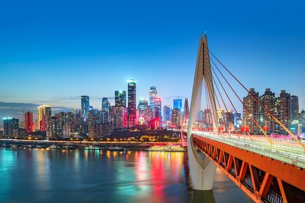 Китай чунцин городские огни