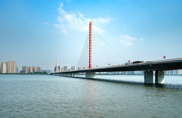 Мост через реку ханчжоу цяньтан