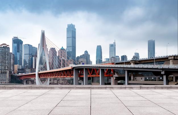 近代的な都市のスカイライン