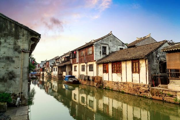 蘇州古城夜景
