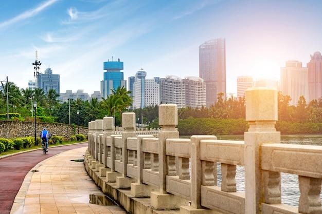 海南島、中国の高層ビル