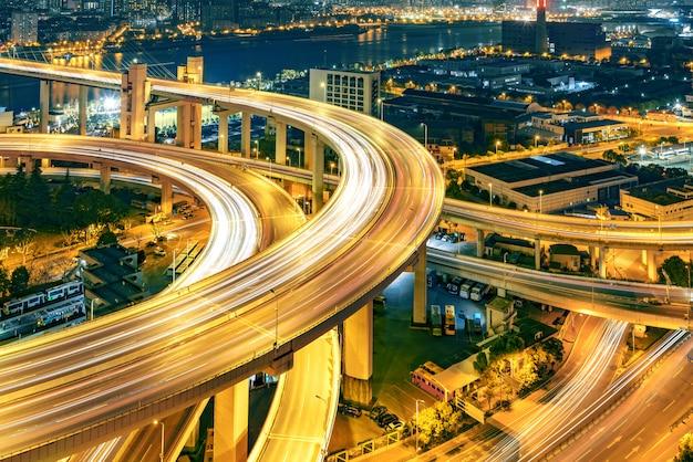 Мост наньпу ночью