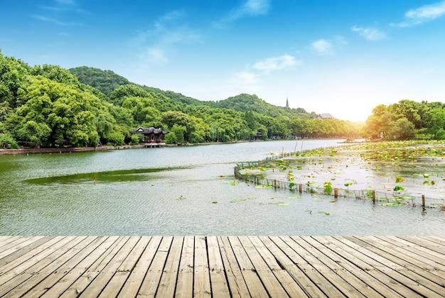 杭州西湖の風景