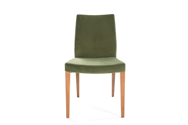グリーンライフスタイルの椅子白い背景の家具