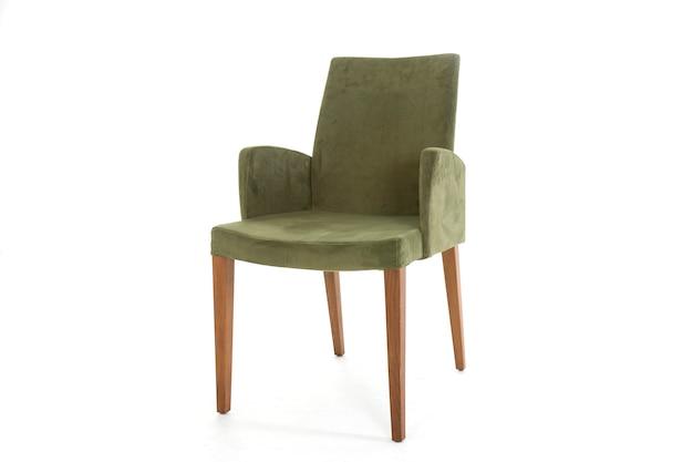 緑の家具のモダンなスタジオライフスタイル