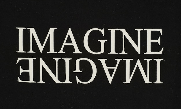 「想像」という看板
