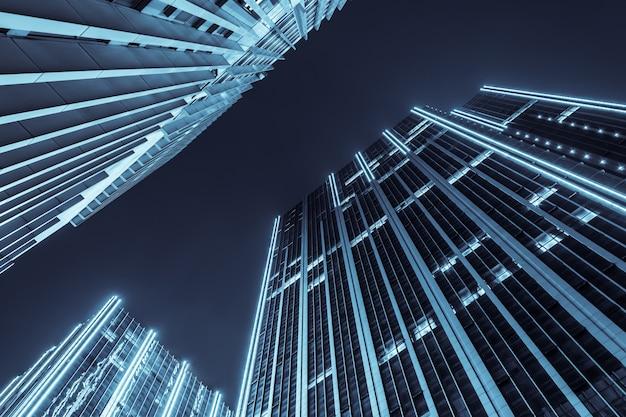 エクステリアライトで建物の底面図