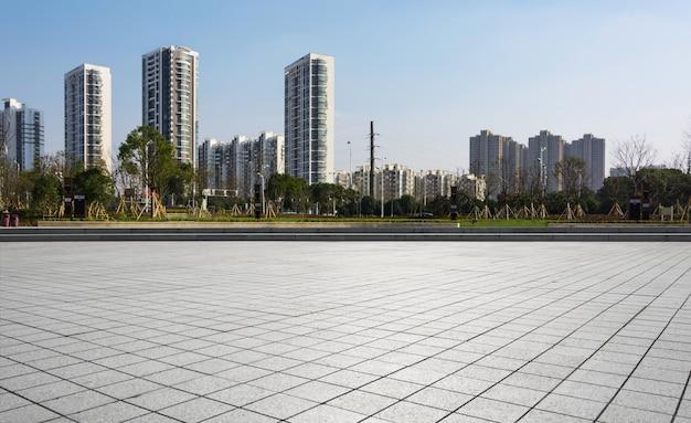 空床面積の建物の観光