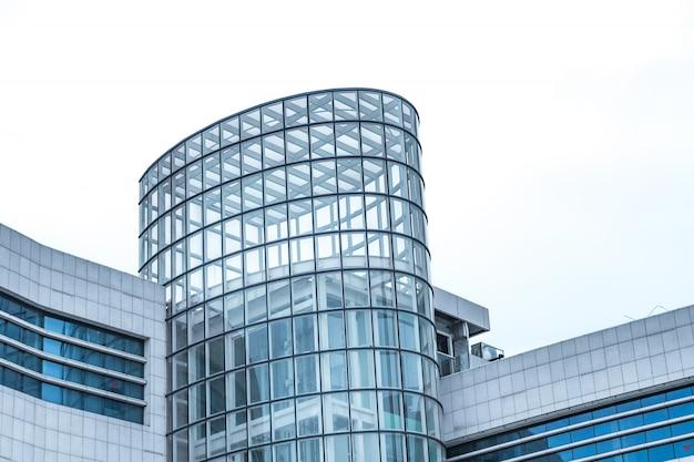 Современный вид здание