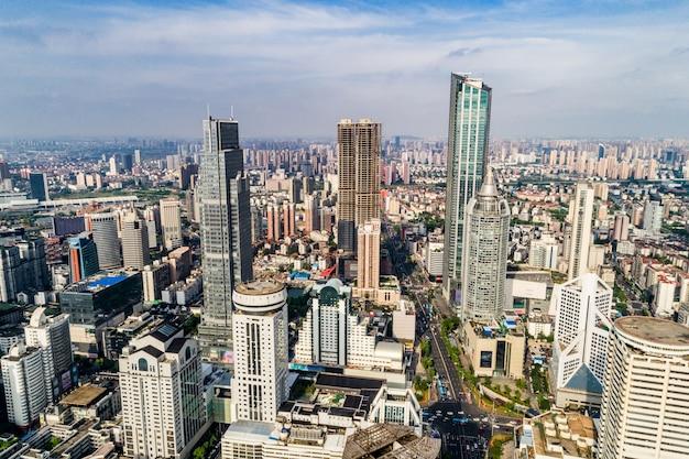上海の鳥瞰図