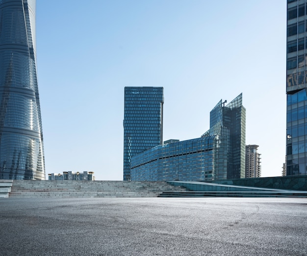 建物と近代的な都市
