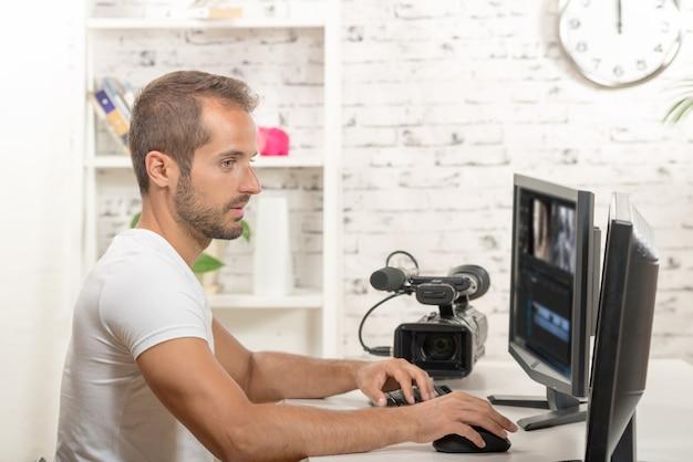 技術者ビデオエディター