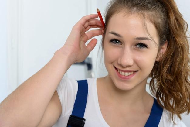 Портрет молодой женщины ученик