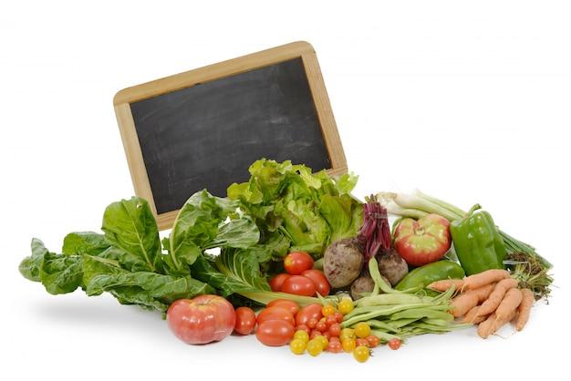Ассорти из сезонных овощей с доски