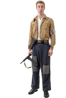 Молодой французский солдат сопротивления