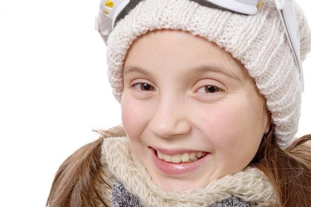 冬服でかわいい女の子