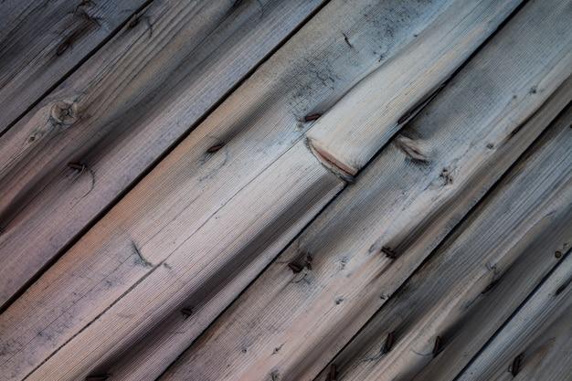 木製の斜めのテクスチャ背景