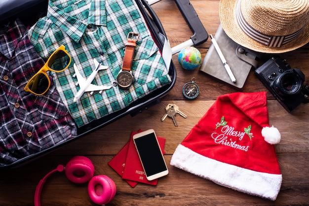クリスマスフェスティバルでの旅行の計画