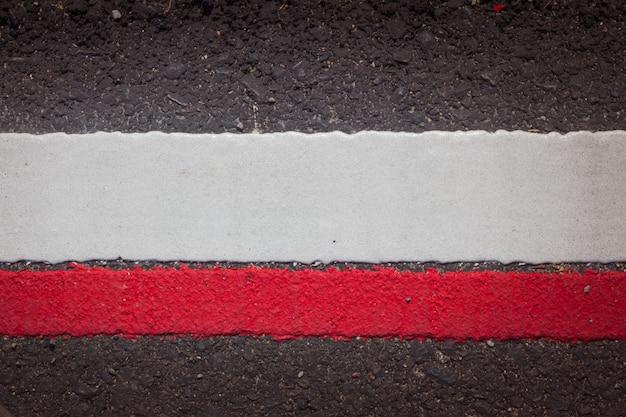 Текстура дорожного асфальта с разделительными линиями