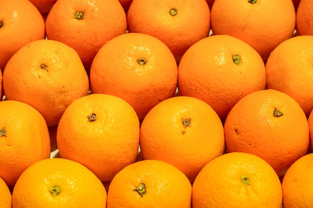 大量のオレンジ