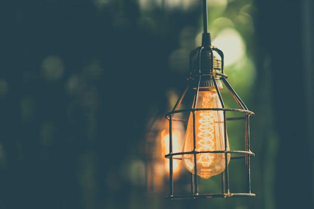 Ретро эдисон лампочка декор