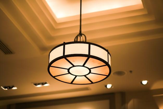 Потолочный светильник декор