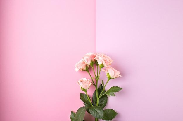Композиция цветов. розовые розы