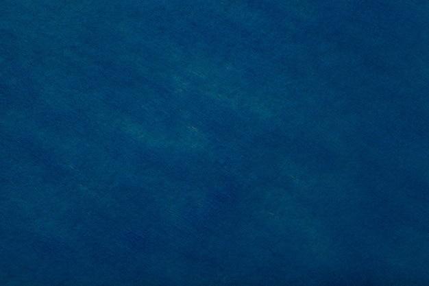 フェルト生地のネイビーブルーの背景