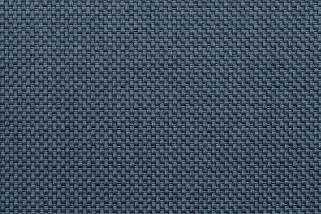青い繊維の背景のクローズアップ