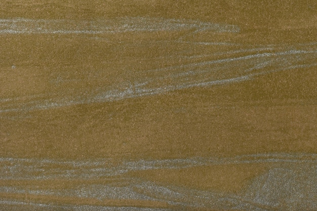 シルバーカラー、キャンバス上の多色絵画と抽象美術背景ダークオリーブ