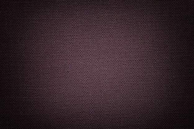 繊維素材、自然な風合いの生地から暗い茶色の背景、