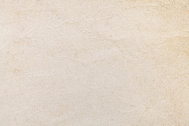 ベージュの古い紙のテクスチャ