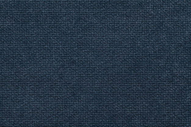 Темно-синий текстильная текстура фон