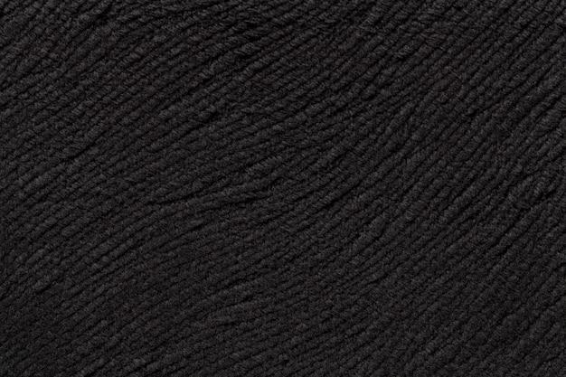 柔らかい繊維素材のターコイズブルーの背景。