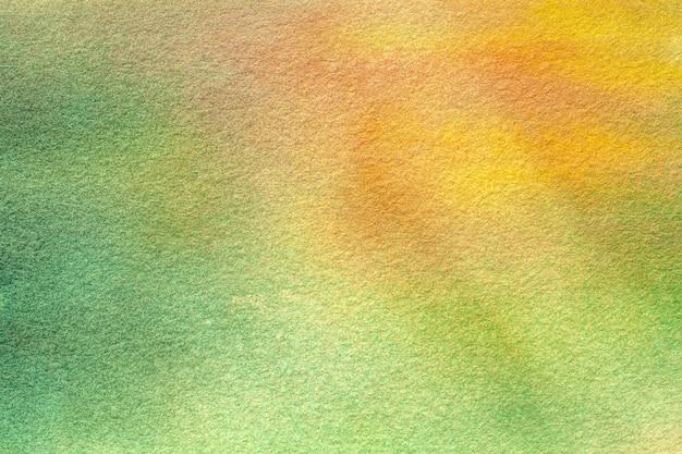 抽象芸術の背景の明るい緑と黄色の色。