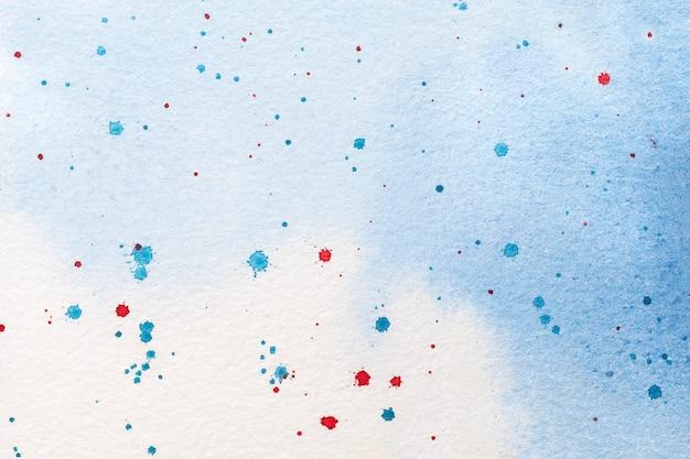 抽象芸術の背景水色と白