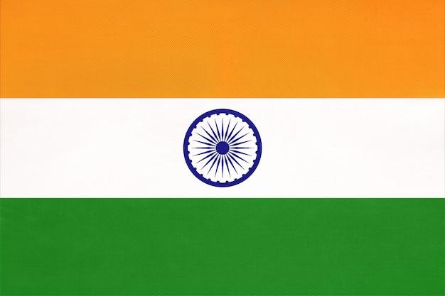 Национальный флаг ткани индии