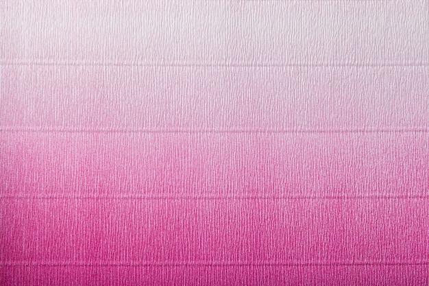 Текстура гофрированного фиолетового и белой бумаги с градиентом