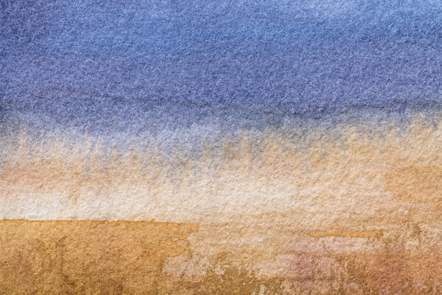 抽象芸術の背景水色と茶色の色