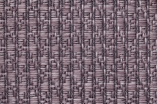 Коричневый вязаный шерстяной фон с рисунком из мягкой, ворсистой ткани текстура из текстиля крупным планом