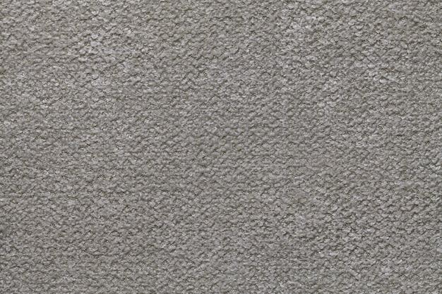 ふわふわの柔らかい布のネイビーブルーのふわふわの背景。繊維のクローズアップのテクスチャ