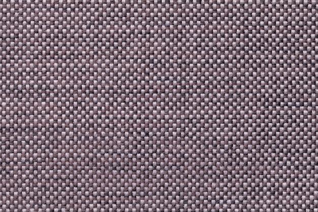 Крупный план предпосылки ткани темного коричневого цвета. структура ткани макроса