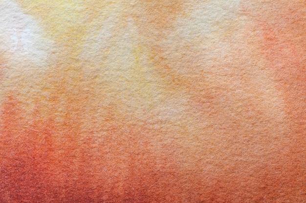 Абстрактное искусство фон светло-кораллового и темно-оранжевого цветов.