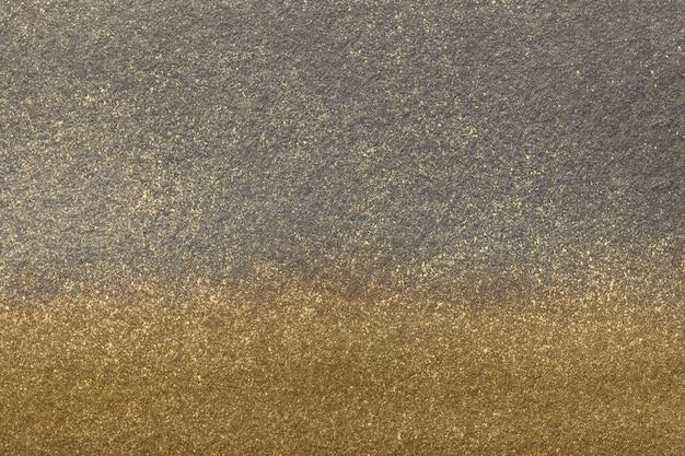 青銅色のグラデーションでキャンバスに水彩画