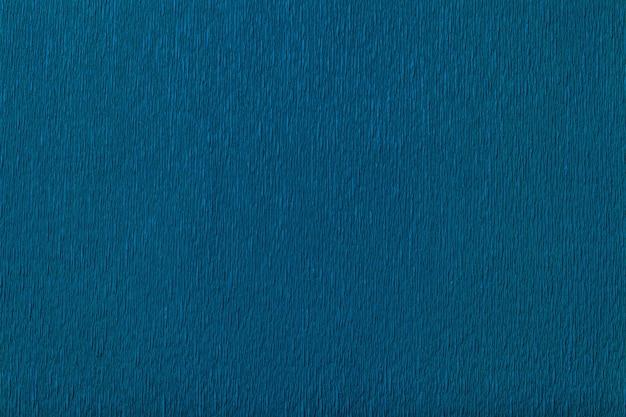 波状段ボール紙の紺のテクスチャ、クローズアップ。