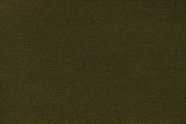 枝編み細工品パターンを持つ繊維材料から濃い緑色の背景