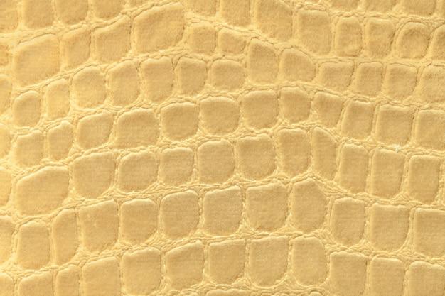 柔らかい室内装飾織物材料からの暗い黄色の背景